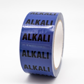 Alkali Pipe Identification Tape - R M Labels - ID503T50V