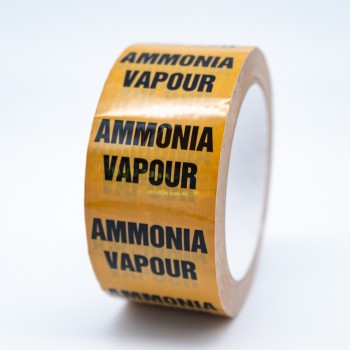 Ammonia Vapour Pipe Identification Tape - R M Labels - ID226T50YO