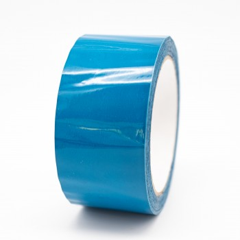 Auxiliary Blue Pipe Identification Tape 50mm wide - BS 18-E-53 - R M Labels - ID201C50