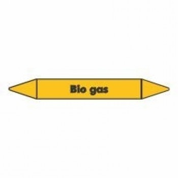 Bio Gas Pipe Marker self adhesive vinyl code PMG04a
