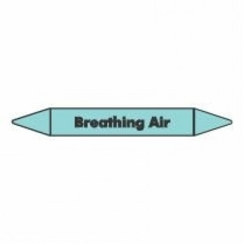 Breathing Air Pipe Marker self adhesive vinyl code PMCa02a