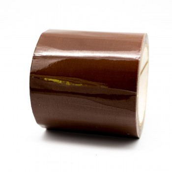 Brown Pipe Identification Tape 100mm wide 06-C-39 - R M Labels - ID310C100
