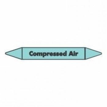 Compressed Air Pipe Marker self adhesive vinyl code PMCa04a