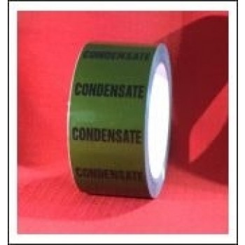 Condensate self adhesive Pipe Identification Tape Code ID154T50G