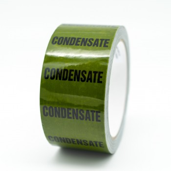 Condensate Pipe Identification Tape - Green 12-D-45 - R M Labels - ID154T50G
