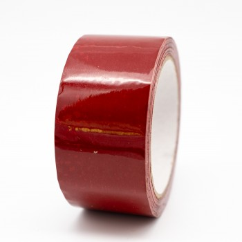 Crimson Pipe Identification Tape 50mm wide 04-D-45 - R M Labels - ID211C50
