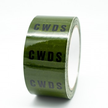 CWDS Pipe Identification Tape - Green 12-D-45 - R M Labels - ID140T50G