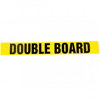 Double Board self adhesive acrylic tape for marking Plasterboards - R M Labels