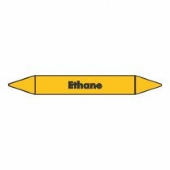 Ethane Pipe Marker self adhesive vinyl code PMG29a