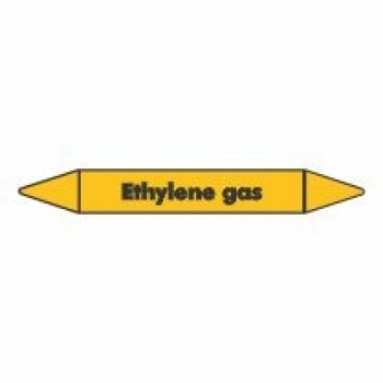 Ethylene Gas Pipe Marker self adhesive vinyl code PMG31a