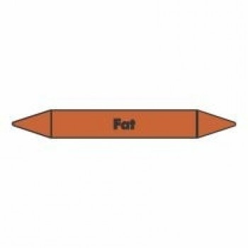 Fat Pipe Marker self adhesive vinyl code PMO25a