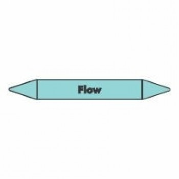 Flow Pipe Marker for Air self adhesive vinyl code PMCa09a