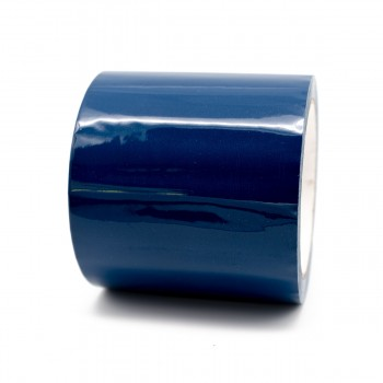 French Blue Pipe Identification Tape 150mm wide 20-D-45 - R M Labels - ID421C150