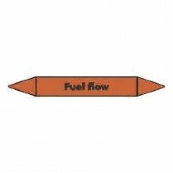 Fuel Flow Pipe Marker self adhesive vinyl code PMO32a