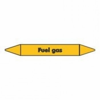 Fuel Gas Pipe Marker self adhesive vinyl code PMG39a