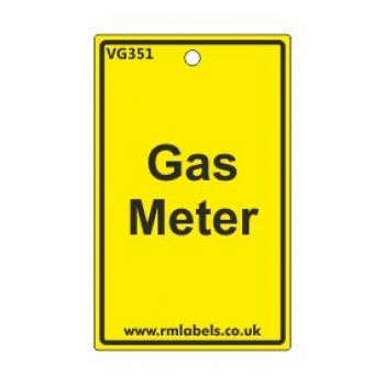 Gas Meter Label Code VG351