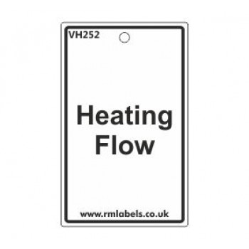 Heating Flow Label Code VH252