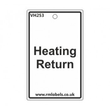 Heating Return Label Code VH253