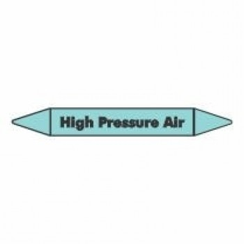High Pressure Air Pipe Marker self adhesive vinyl code PMCa10