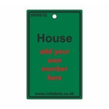 House Label in green Code VN991G