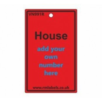 House Label in red Code VN991R
