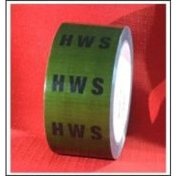 HWS self adhesive Pipe Identification Tape Code ID159T50G