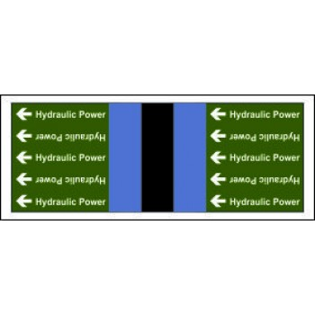 Hydraulic Power Pipe Banding for Non Potable Water from