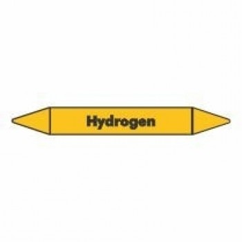 Hydrogen Pipe Marker self adhesive vinyl code PMG45a