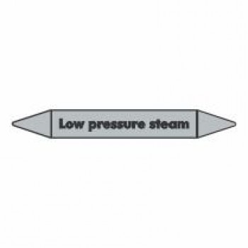 Low Pressure Steam Pipe Marker self adhesive vinyl code PMS06a