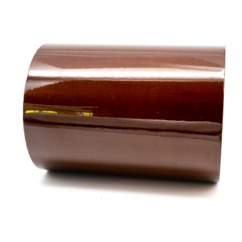 Mahogany Brown External Pipe Identification Tape 150mm wide - RAL 8016 - R M Labels - EXD454C150