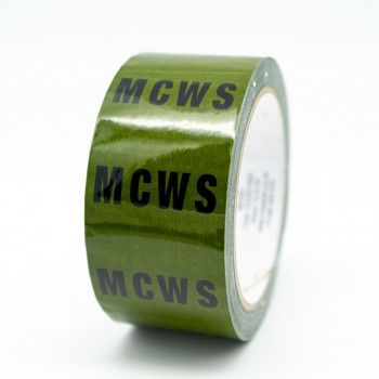 MCWS Pipe Identification Tape for Mains Cold Water Service / Supply - Green 12-D-45 - R M Labels - ID245T50G