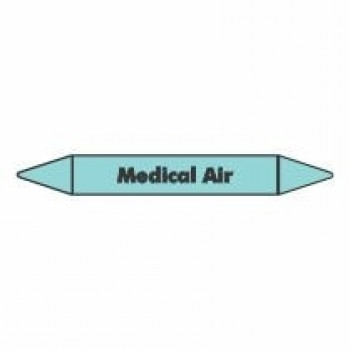 Medical Air Pipe Marker self adhesive vinyl code PMCa14a