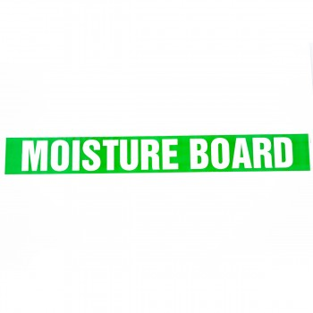 Moisture Board self adhesive acrylic Plasterboard Marking Tape - R M Labels