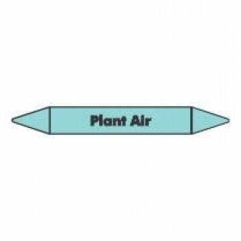 Plant Air Pipe Marker self adhesive vinyl code PMCa15a