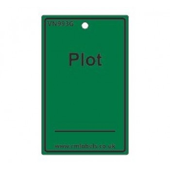 Plot Label in green Code VN993G