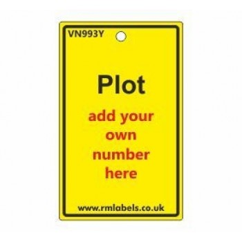 Plot Label in yellow Code VN993Y