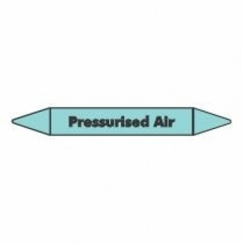 Pressurised Air Pipe Marker self adhesive vinyl code PMCa1a