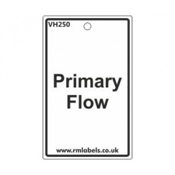 Primary Flow Label Code VH250