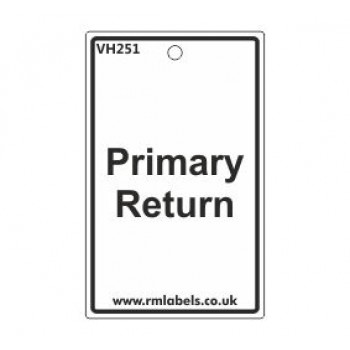Primary Return Label Code VH251