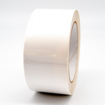 Pure White External Pipe Identification Tape 50mm wide - RAL 9010 -R M Labels - EXD258C50