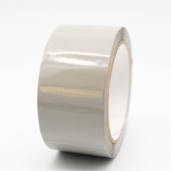 Silver Grey Pipe Identification Tape 50mm wide 10-A-03 - R M Labels - ID215C50