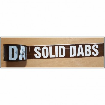Solid Dabs self adhesive acrylic Plasterboard Marking Tape Code AID001T72B