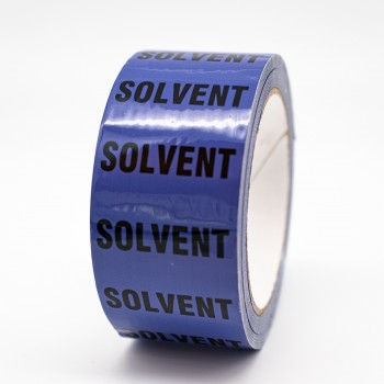 Solvent Pipe Identification Tape - R M Labels - ID511T50V