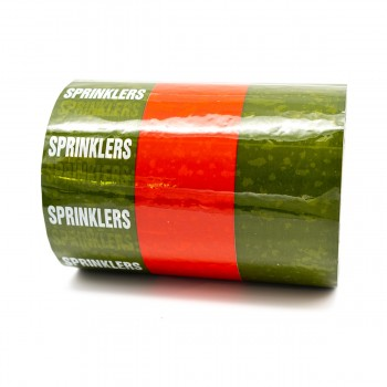 Sprinklers Pipe Identification Tape Green and Red 150mm - R M Labels - ID461T150G