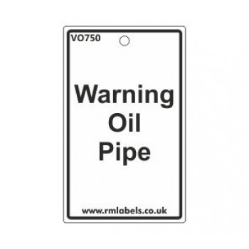 Waring Oil Pipe Label Code VO750