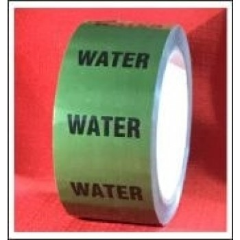 Water self adhesive Pipe Identification Tape Code ID164T50G