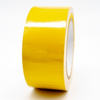Yellow Pipe Identification Tape 50mm wide 08-E-51 - R M Labels - ID208C50