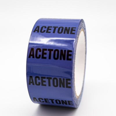 Acetone Pipe Identification Tape - R M Labels - ID501T50V