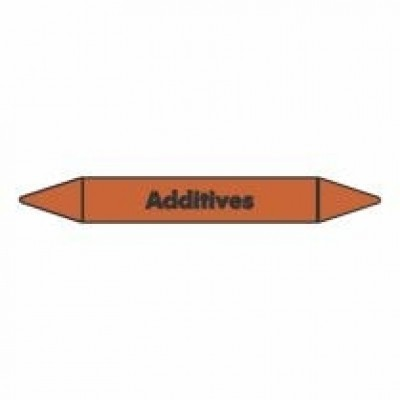 Additives Pipe Marker self adhesive vinyl code PMO06a