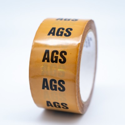 AGS (Anaesthetic Gas Scavenging System) Pipe Identification Tape - R M Labels - ID136T50YO
